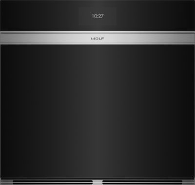 Product-ICBSO30CM-B contemporary single black glass oven